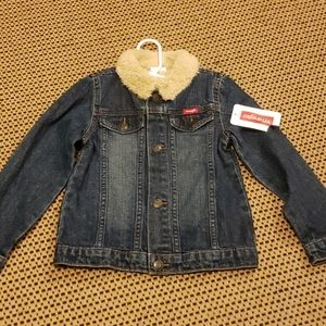 NWT Wrangler denim jacket sz 4t